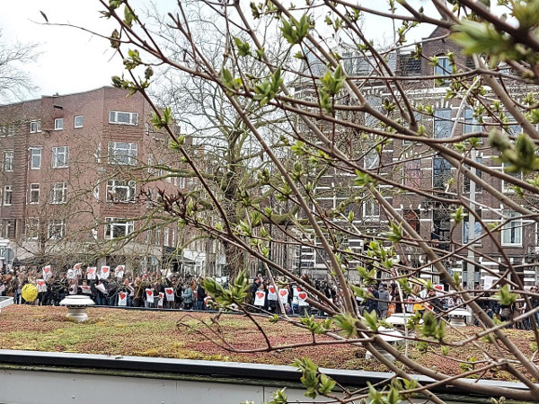 Demo 20 maart 2021 Leidsekade
