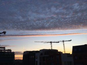 Lucht boven Delft op 30 december 2019