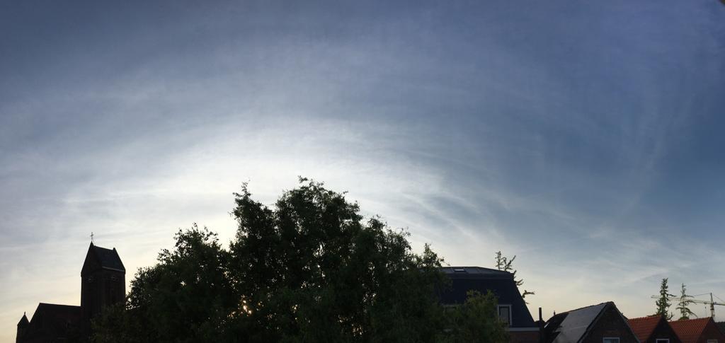 Lucht boven Delft op 31 mei 2020