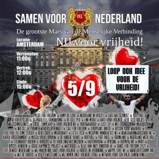 5 september 2021 Dam Amsterdam
