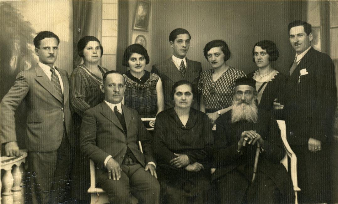 Joods familie in Roemenië