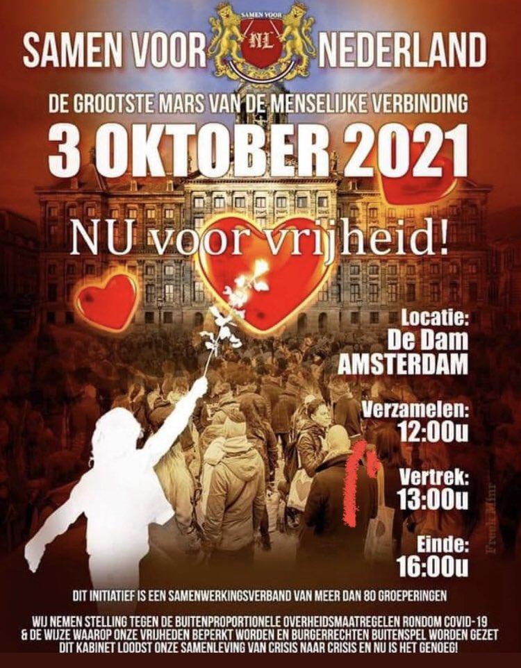 3 oktober Dam voor de Vrijheid