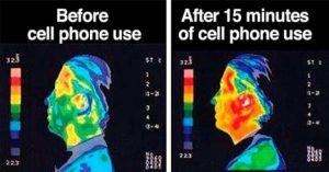 Effect mobiele telefoon