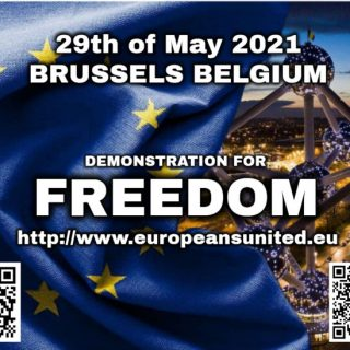 Europees protest 29 mei 2021