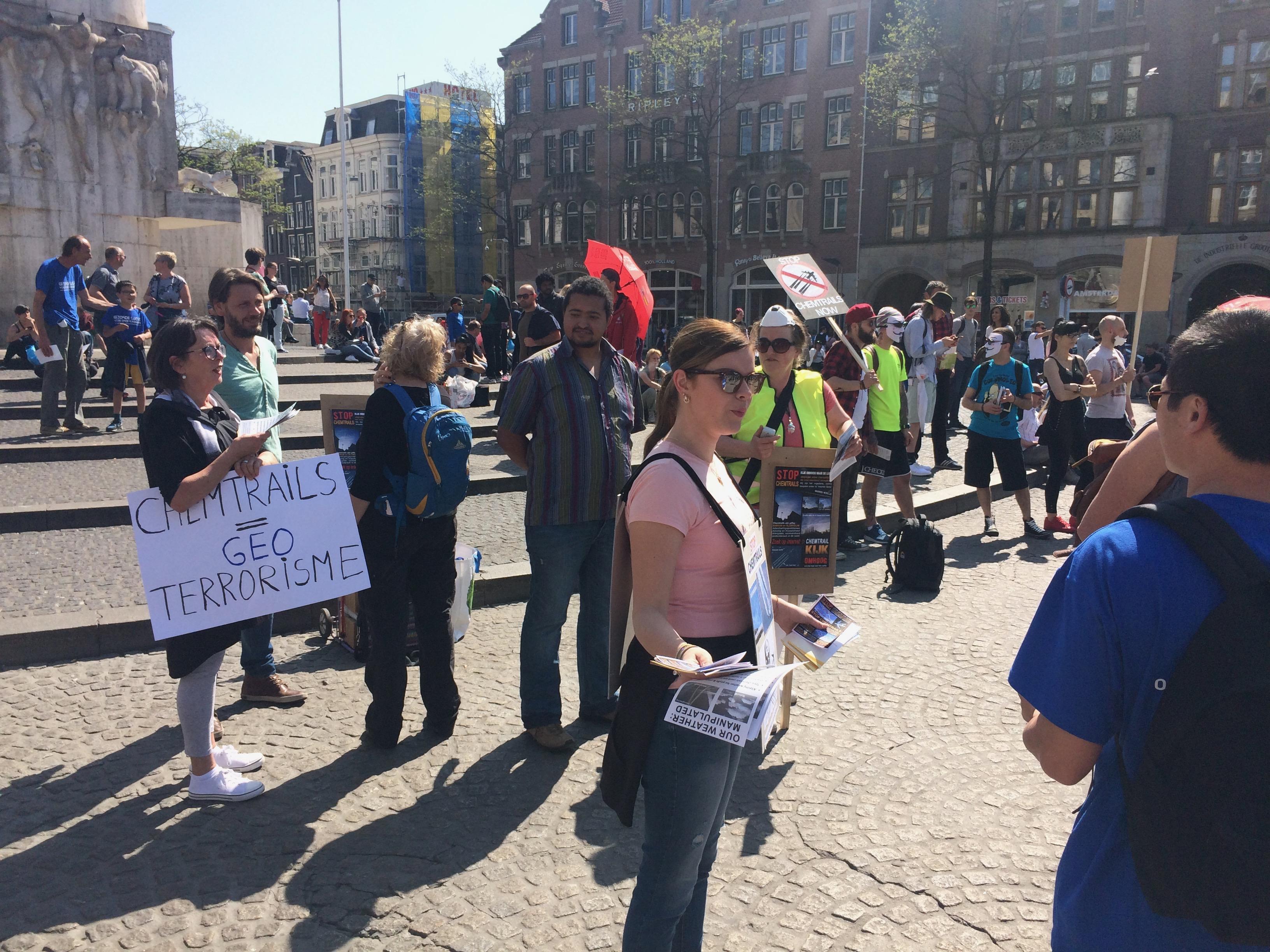 Global March against Geo-Engineering