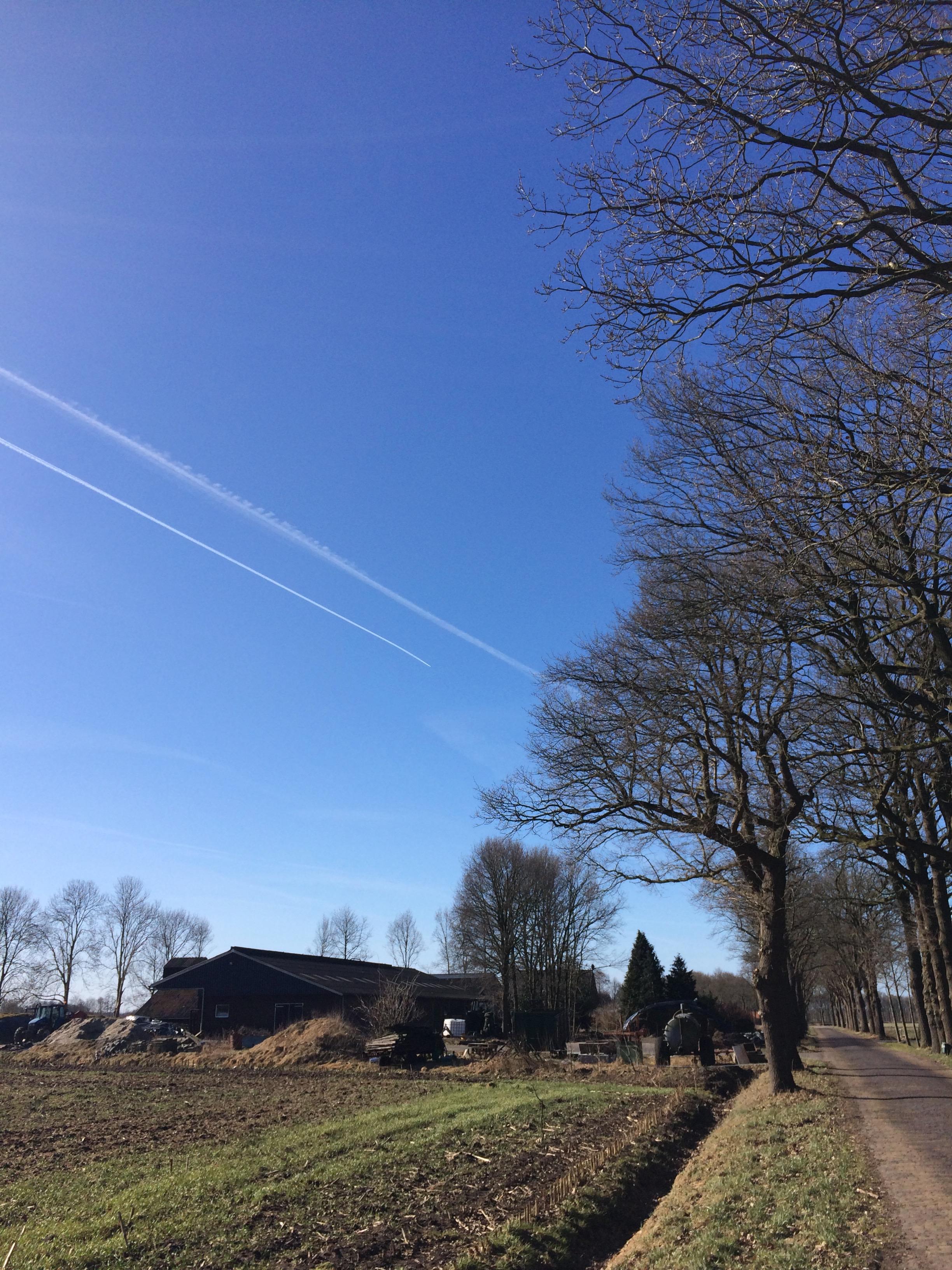 Chemtrail sproei-operaties boven Dwingeloo