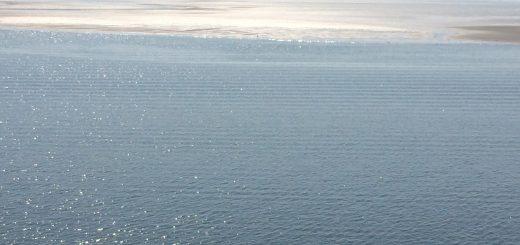 Zonder mondkapje op de Waddenzee