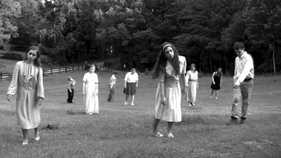 zombies uit film living dead