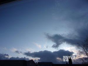 Chemtrails verstoren de uitwisseling tussen hemel en aarde