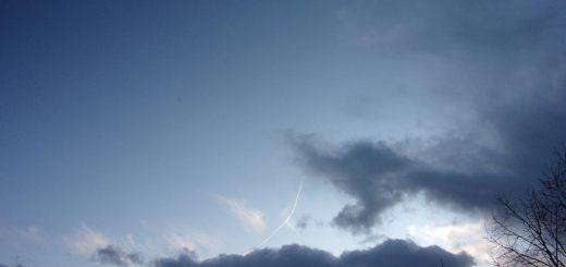 Luchtruim boven Driebergen januari 2020