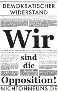 Nicht Ohne Uns protest in Berlijn