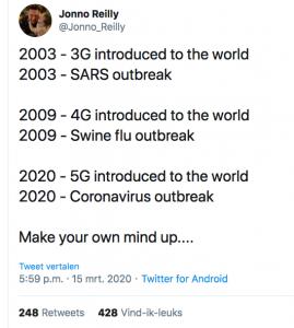 Pandemie en straling