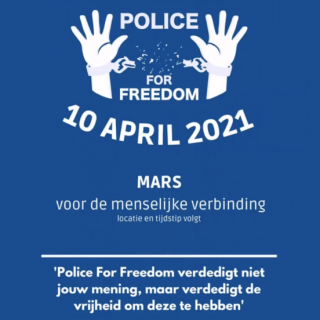 Baarn demo Police for Freedom