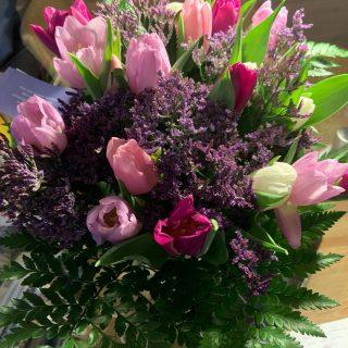 Bloemen voor arts uit Maasbree