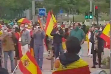 Protesten Madris 16 mei 2020
