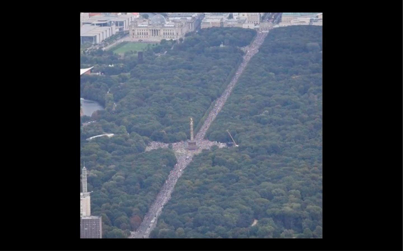 demonstratie Berlijn 29 augustus 2020