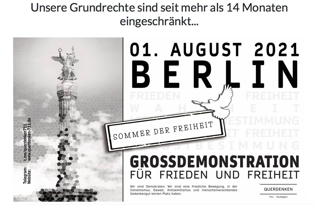 Berlijn 1 augustus 2021