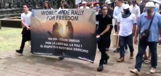Wereldwijde mars voor de vrijheid 18 september 2021