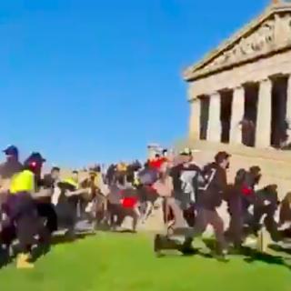 Politie Melbourne schiet met rubberen kogels