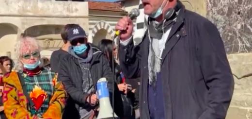 Italië verzetsacties tegen coronapas