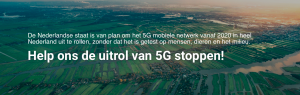 Oproep om 5G te stoppen
