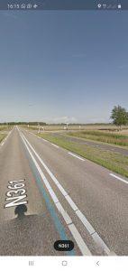 N361 bij Lauwersoog