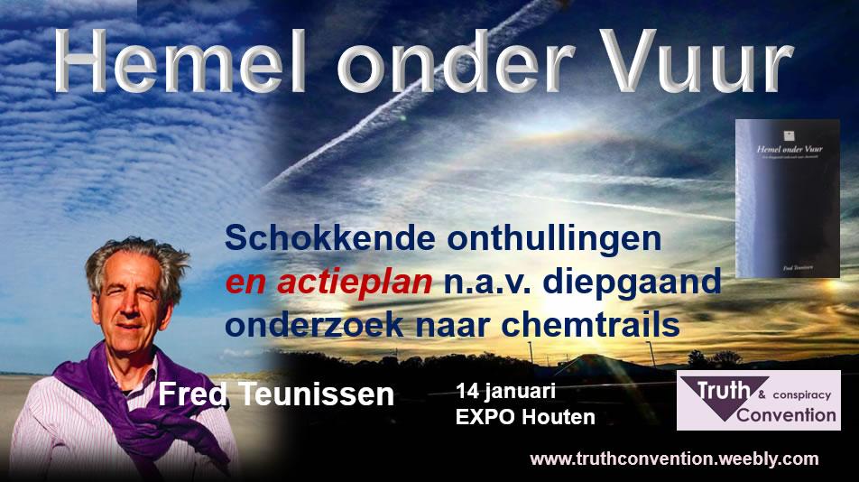 Lezing Fred Teunissen, zondag 14 januari 2018 tijdens EXPO Houten