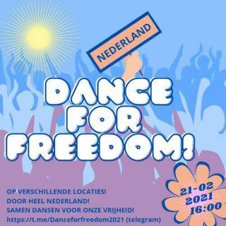 dansrevolutie Dance for Freedom