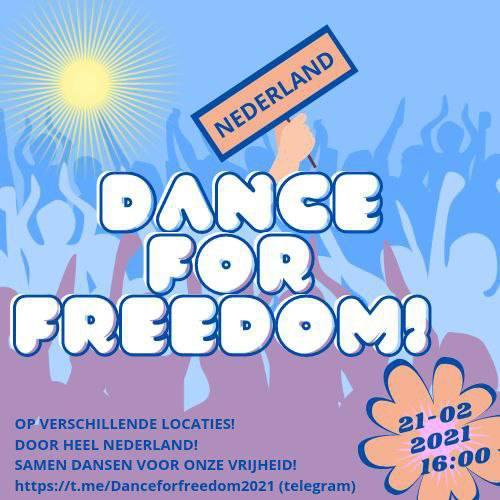 Dance for Freedom revolutie begint in NL