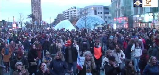 Manifestatie Eindhoven 19 december 2020