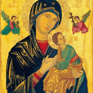 Mother of perpetual help - corona