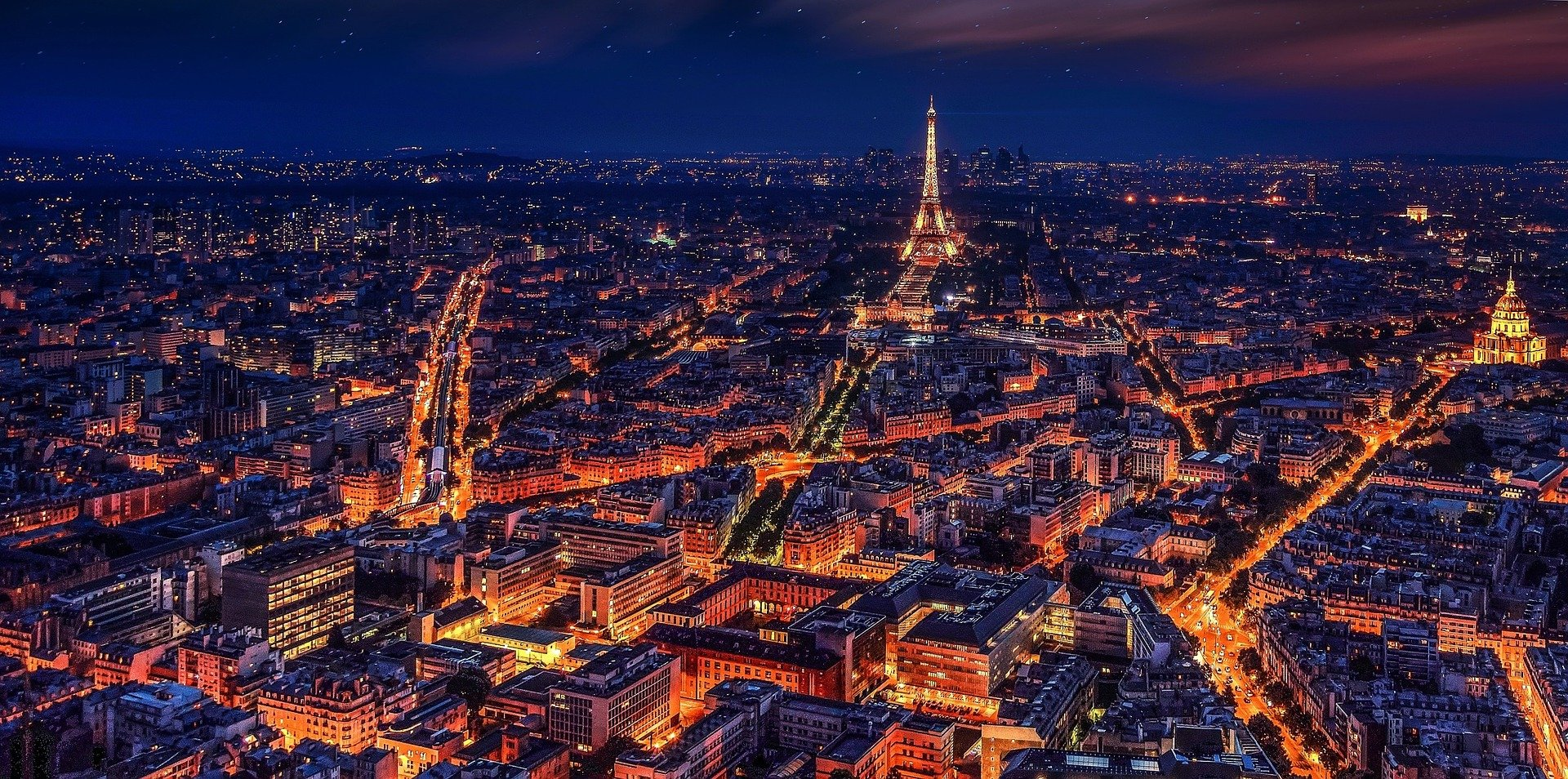 Parijs energieveld