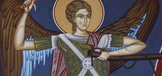 Aartsengel Michael bevecht de antichrist